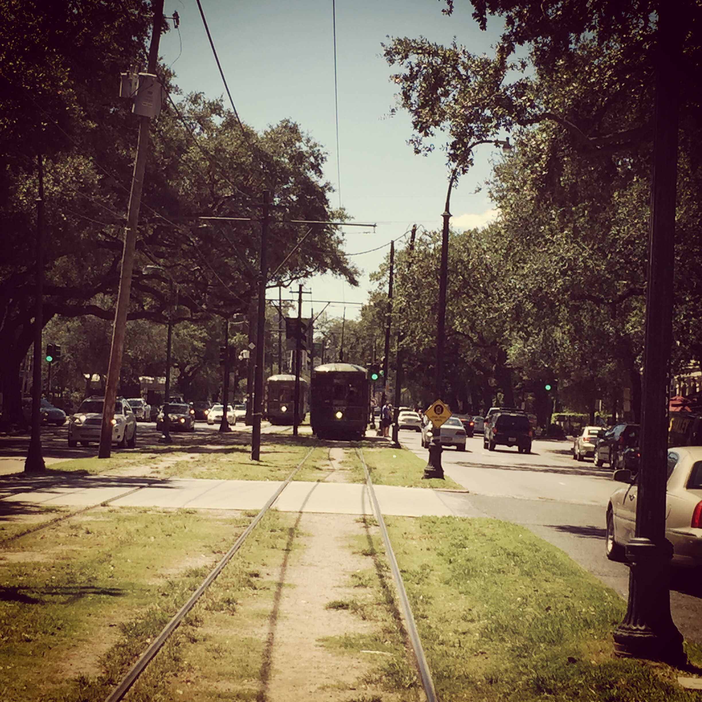 Photo of St. Charles Street Car, New Orleans